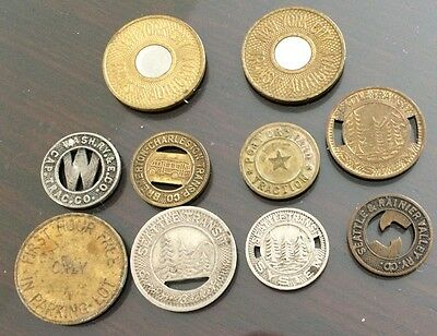 New York City Seattle Bremerton Good For One Fare Transit Authority Token
