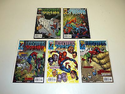 WEBSPINNERS TALES OF SPIDER-MAN #6 7 8 9 10 Marvel Comic Books Lot Run 5 NM-NM+