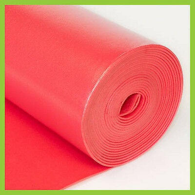 3 in 1 UNDERLAYMENT Laminate Foam 3.2mm 100 sq.ft Red by LessCare