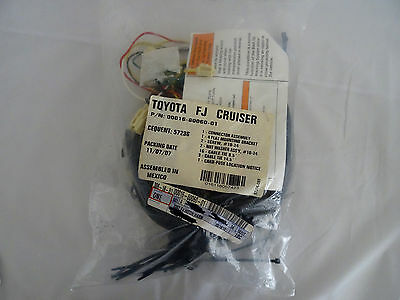 TOYOTA FJ CRUISER New OEM Trailer Hitch Wire Harness 00016 ... on