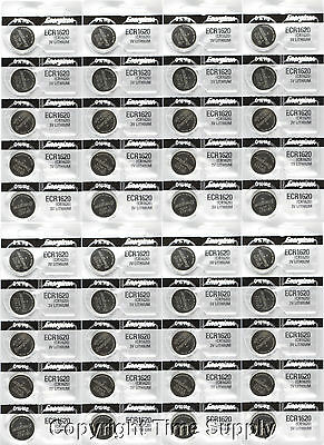 40 pcs 1620 Energizer Watch Batteries CR1620 CR 1620 3V Lithium Battery 0%HG