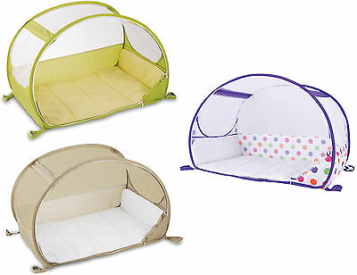 Koo-di POP-UP TRAVEL BUBBLE COT Baby/Child Sleeping/Travel Accessory BN