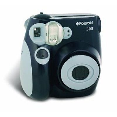 Polaroid PIC-300 Instant Analog Camera (Black)