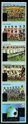 Paraguay Scott #2286 MNH World Cup 1982 Spain Soccer Football OVPT CV$15+