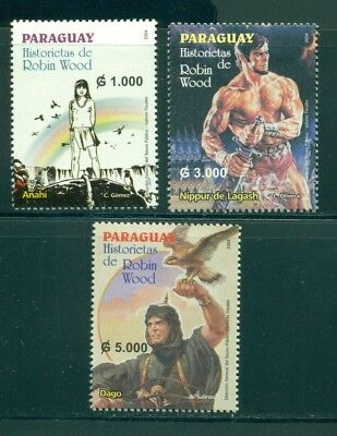 Paraguay Scott #2738-2740 MNH Comics by Robin Wood CV$7+