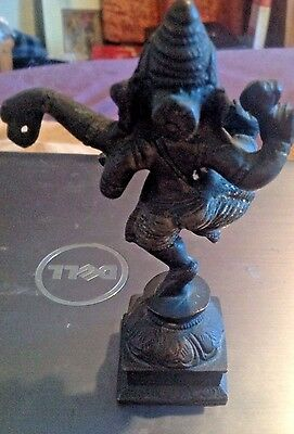 Antique Nineteenth-Century Bronze Dancing Ganesh