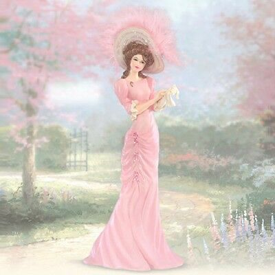 Pink with Hope - Inspirations of Hope Lady FigurineThomas Kinkade
