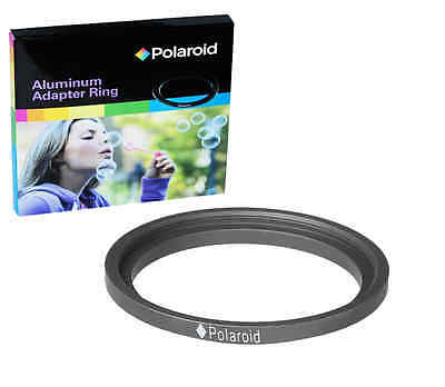 Polaroid Step-Down Aluminum Adapter Ring 72mm Lens To 58mm Filter Size
