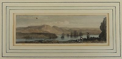 Antique (1840) W. Forrest Hand Colored Engraving