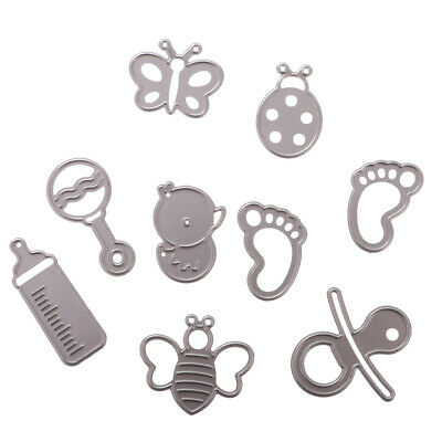 Metal Steel Cutting Dies Stencil DIY Scrapbooking Album Embossing Paper Craft