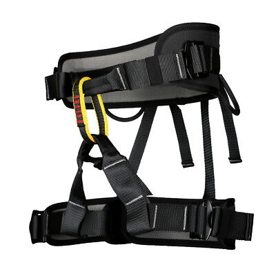 Fall Arrest Protection Sit Harness Bust Belt for Rock Climbing Tree Rigging
