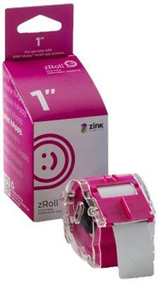 ZINK 1 inch zRoll - A 1 inch wide roll of full color, ink-free ZINK Paper