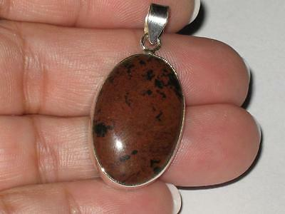 Jasper Pendant 925 Witch Estate MORE MOJO JOY SUCCES HAPPINESS FEELINGS OF POWER