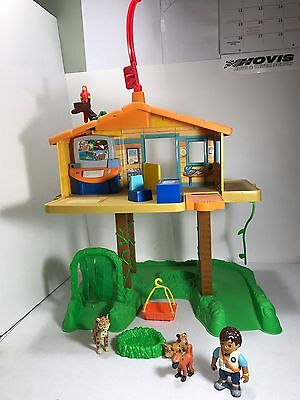 GO DIEGO GO Fisher Price Treehouse Rescue Command Center Tree House Play Set