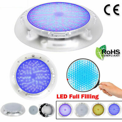 Stainess Resin Filled LED swimming pool lights 18W RGB multi-color 12V CE ROHS