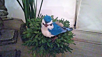 Sisal Blue Bird~ Easter Spring Decor