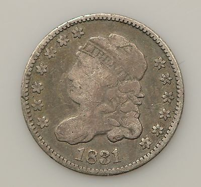 1831 Capped Bust Silver Half Dime *G87