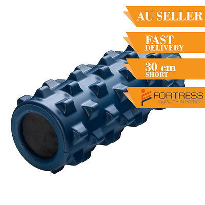 Fortress Rugged Firm Roller Original 30CM Home ExerciseYoga Gym Pilates Back Mas