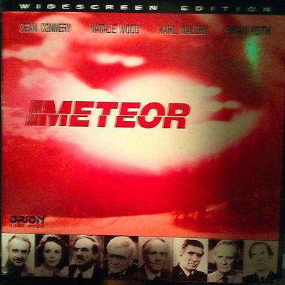 Meteor / Widescreen  Laserdisc - Buy 6 for free shipping