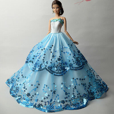 Fashion Royalty Princess Dress/Clothes/Gown For Barbie Doll S510U