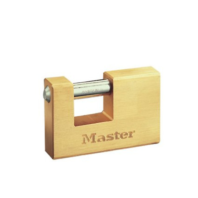 606EURD Master Lock Schloss aus mass. Messing 63mm Bügel 18mm D 10mm