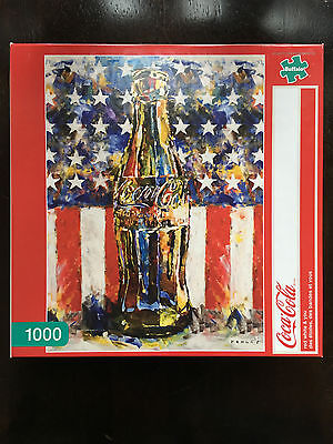 Coca Cola 1000 piece puzzle Red White and You