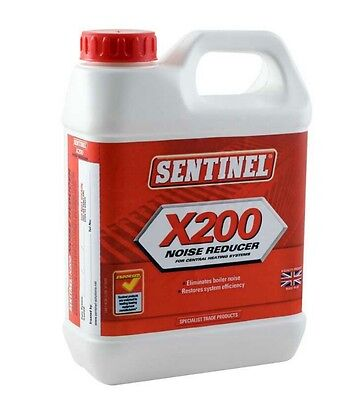 Sentinel 389200 88008 X200 Boiler Noise Reducer and Descaler 1 ltr Litre