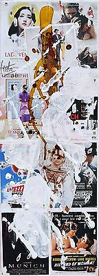 Hector and Hector Collage su tela Cm 55 x 20 HEHCT2