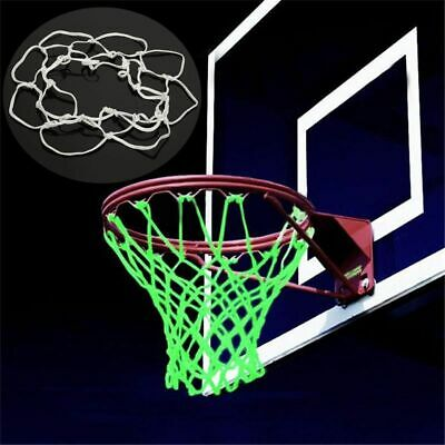 Glow In The Dark Outdoor Sports Basketball Hoop Net Shoot Training For Kid Gift