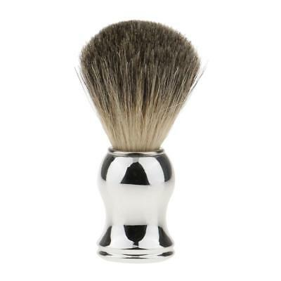 Salon Barber Pure Badger Hair Shave Shaving Brush Face Beard Cleaning Tool