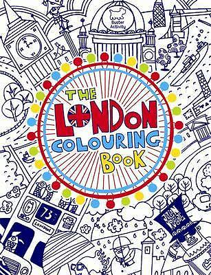 The London Colouring Book, Julian Mosedale, New