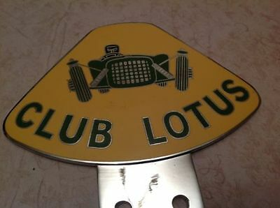 Club Lotus Car Badge Elise Chrome Plated Automobilia Exige Evora Elan
