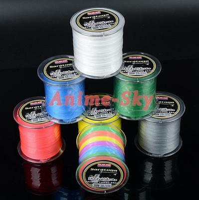 300M-1000M PE Dyneema Multifilament Spectra Braided 4 Strands Sea Fishing Line