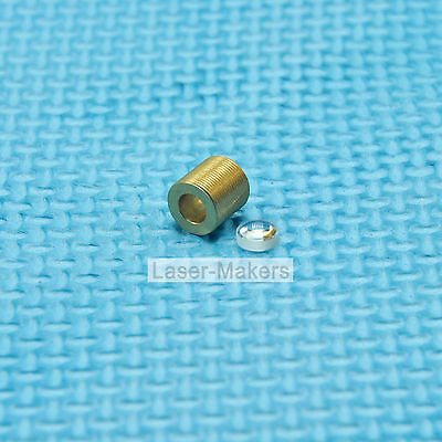 405-G-2 Coated Collimating Glass Lens w/Holder for 405nm 450nm 515nm Laser Diode