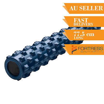 Fortress 77.5CM Rugged Firm Roller Yoga Gym Pilates Exercise Gear