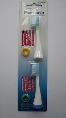 Panasonic WEW 0929 Replacement Toothbrush Heads x 2 Freepost