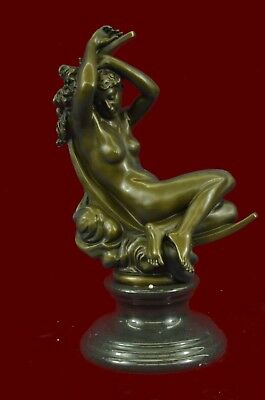 Aphrodite Venus Sleeping Statue Home Decor 100% Pure Bronze Sculpture Figurine