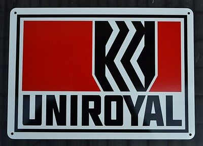 UNIROYAL Tires Sign Service Station Garage Mechanic Shop  Advertising Logo 7 day