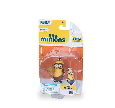 New Despicable Me Action Figure - Cave Minion Highly Detailed Age 4+ Play Toys