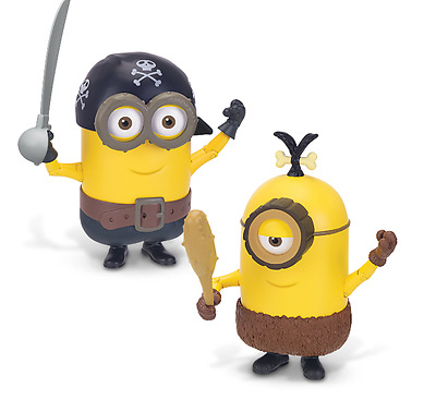 New Despicable Me Deluxe Action Figure Build-A-Minion Pirate/Cro Collectible Toy
