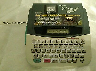 Avery Brother P-Touch Extra Label Making Machine with Label Tape
