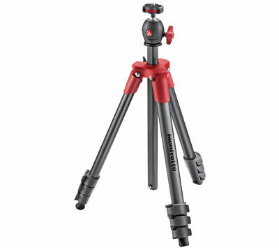 MANFROTTO Compact Light Red Tripod - Currys