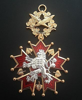 Museum Quality Reproduction Czech Order Of The White Lion 1922