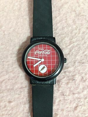 ***** Vintage 1980's Coca Cola Collectors Watch $7 *****