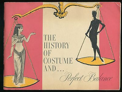 Book THE HISTORY OF COSTUME AND … PERFECT BALANCE Ironwear Hosiery 1956