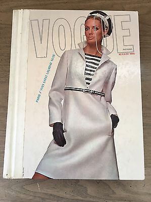 Vintage Vogue Patterns CATALOG Large Store Counter Pattern Book August 1966 Rare