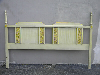 French Painted King-Size Headboard 1342