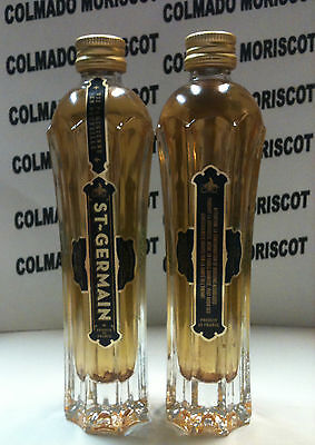 ST GERMAIN 20% 5cl ELDERFLOWER SUREAU glass miniatura mignonette minibottle
