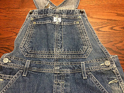 Calvin Klein Youth Overalls Size XL