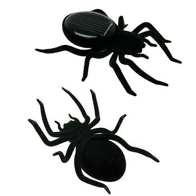 Spider Tarantula Trick Toy Solar Power Educational Robot Scary Insect Gadget Hot